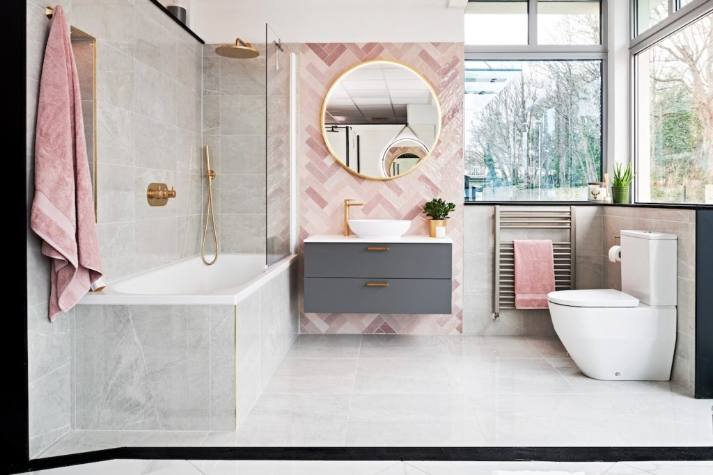 Ripples Bathroom Franchise Display